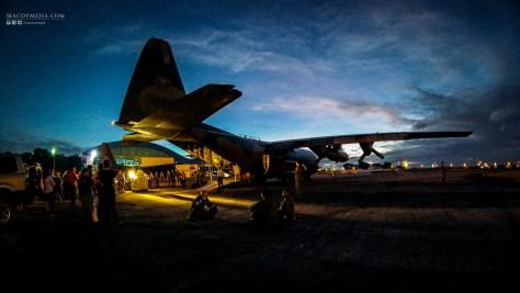 Philippine Airforce's C130