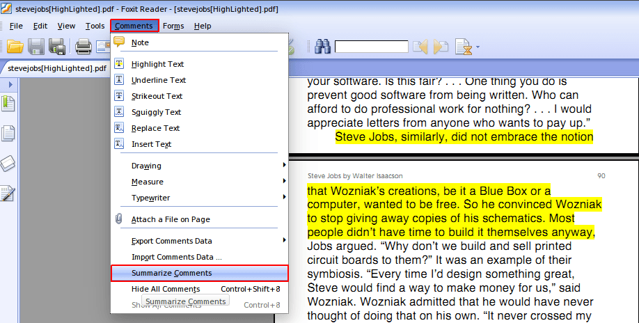 Extract highlighted text from a PDF in Linux - GeeksWeb