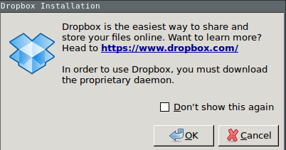 A failed attempt to install Dropbox on Pinebook Armbian