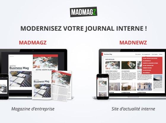 moderniser journal interne, créer journal interne digital, créer site d'actu interne