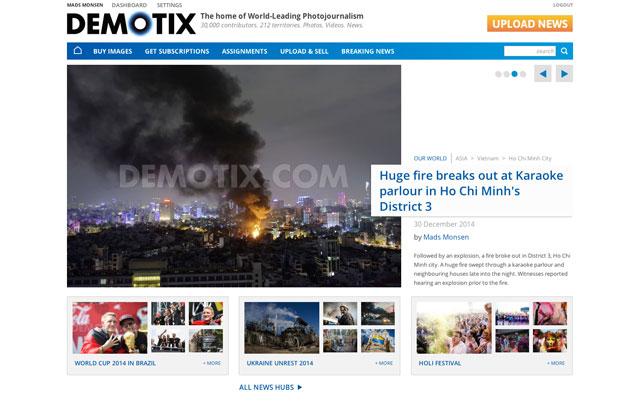 Demotix_Frontpage_December_2014
