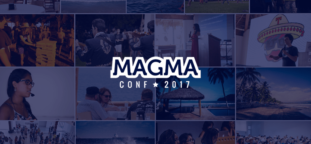 MagmaConf is all about the experience