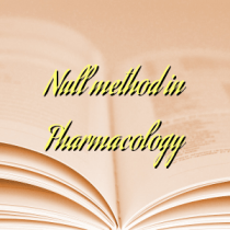 Null method in Pharmacology