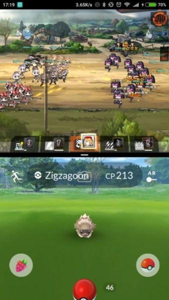xiaomi split screen