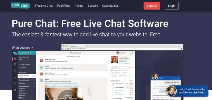 16 Best Free Live Chat Software - Mailshake Blog
