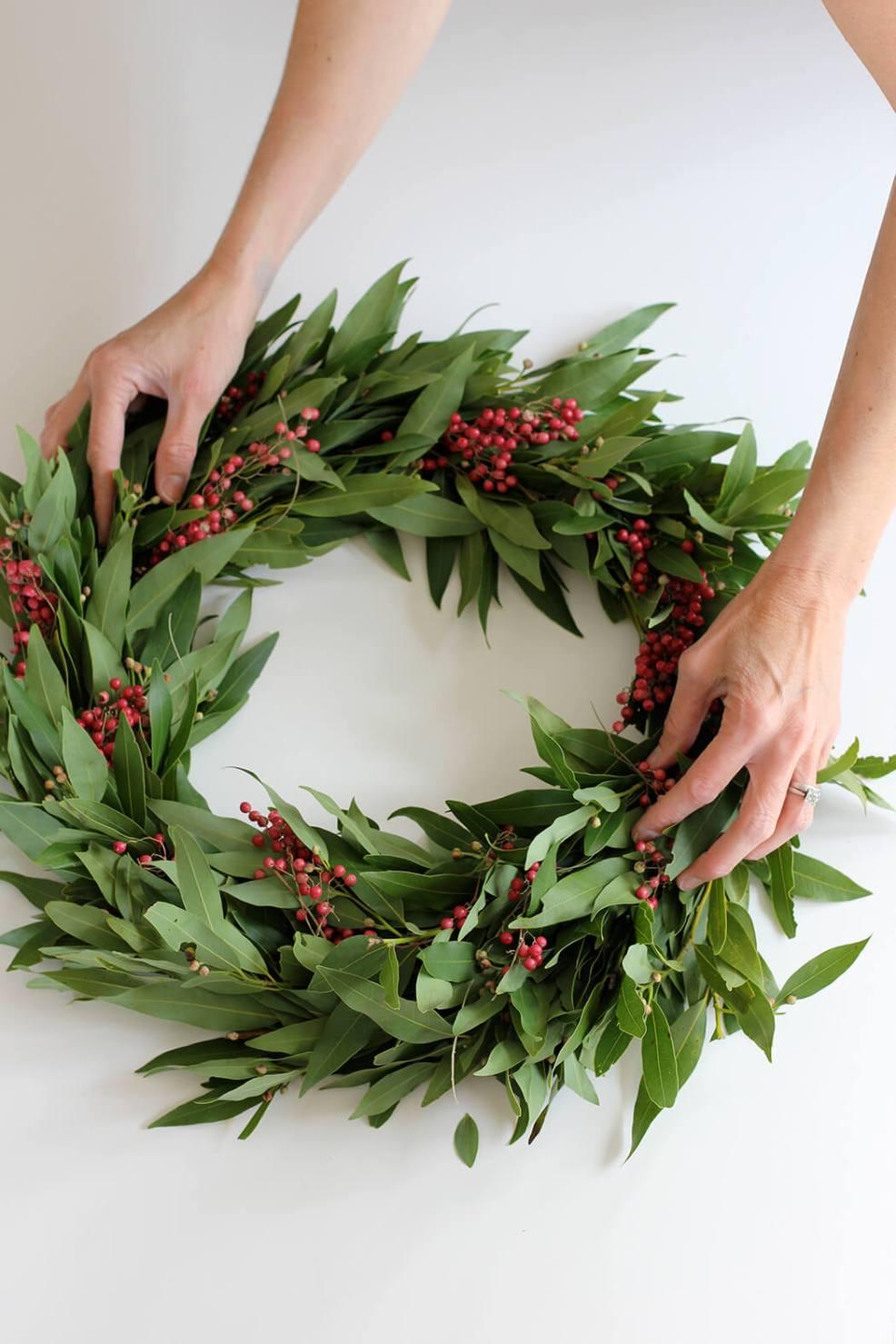 Retrouvez plus d'idées pour une jolie couronne de Noel rouge