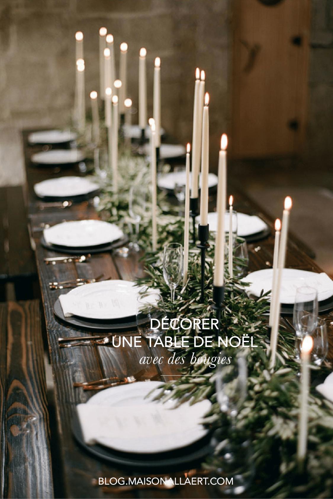 Idée déco originale pour une jolie table de Noel