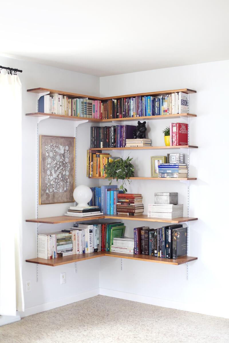 Créer une bibliothèque d'angle
