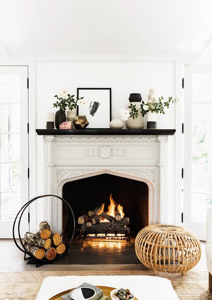1é idées déco pour un salon cosy avec une cheminée