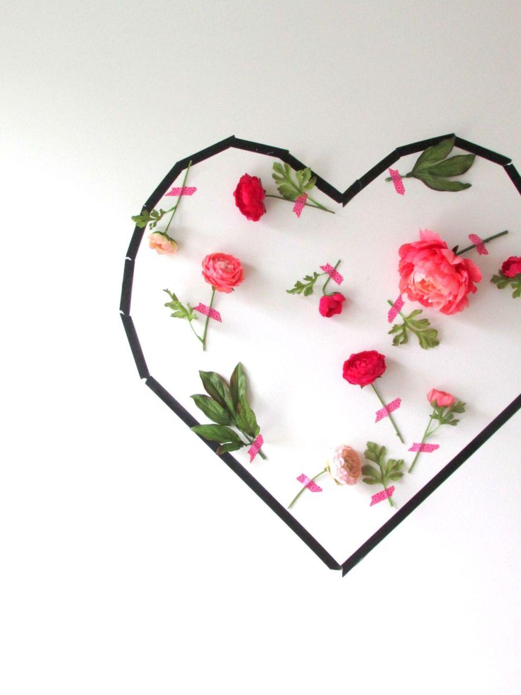 Découvrez 5 tutoriel pour une déco de Saint Valentin