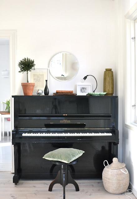 Idée de décoration pour son piano droit