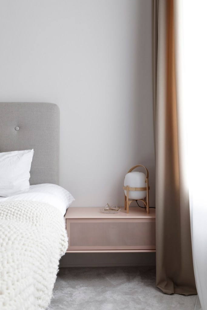 Une chambre à la décoration scandinave