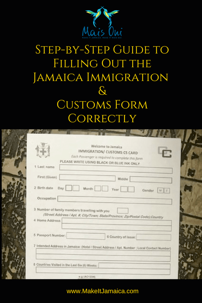 Top Mistakes Made Filling Out the Jamaica Immigration Form