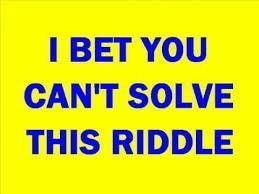 Jamaicans love riddles!
