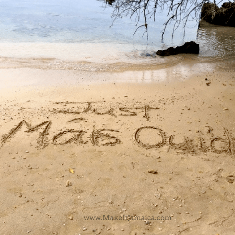 Only Mais Oui couples can say that they have been Just Mais Oui'd - Mais Oui Villa Jamaica