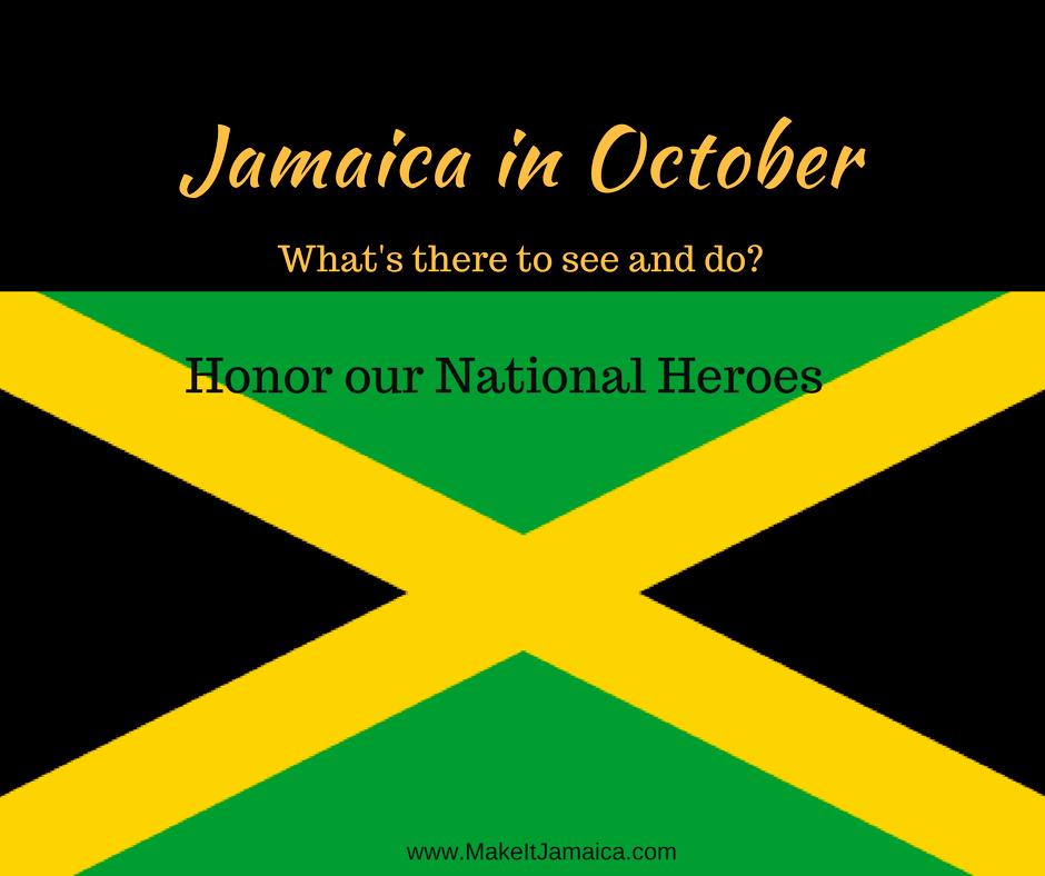 Events in Jamaica in October