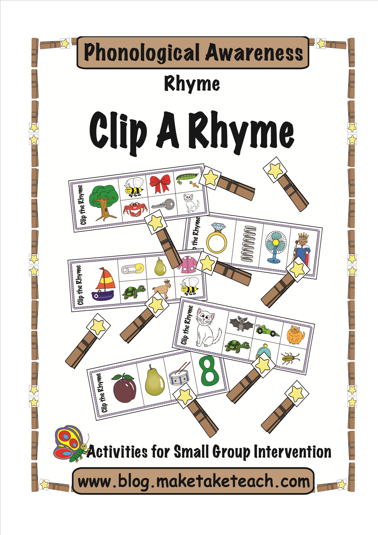 Diy Rhyme Magnets