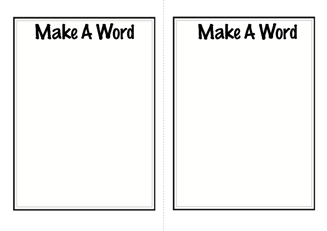 10 Activities For Teaching And Practicing Letters And