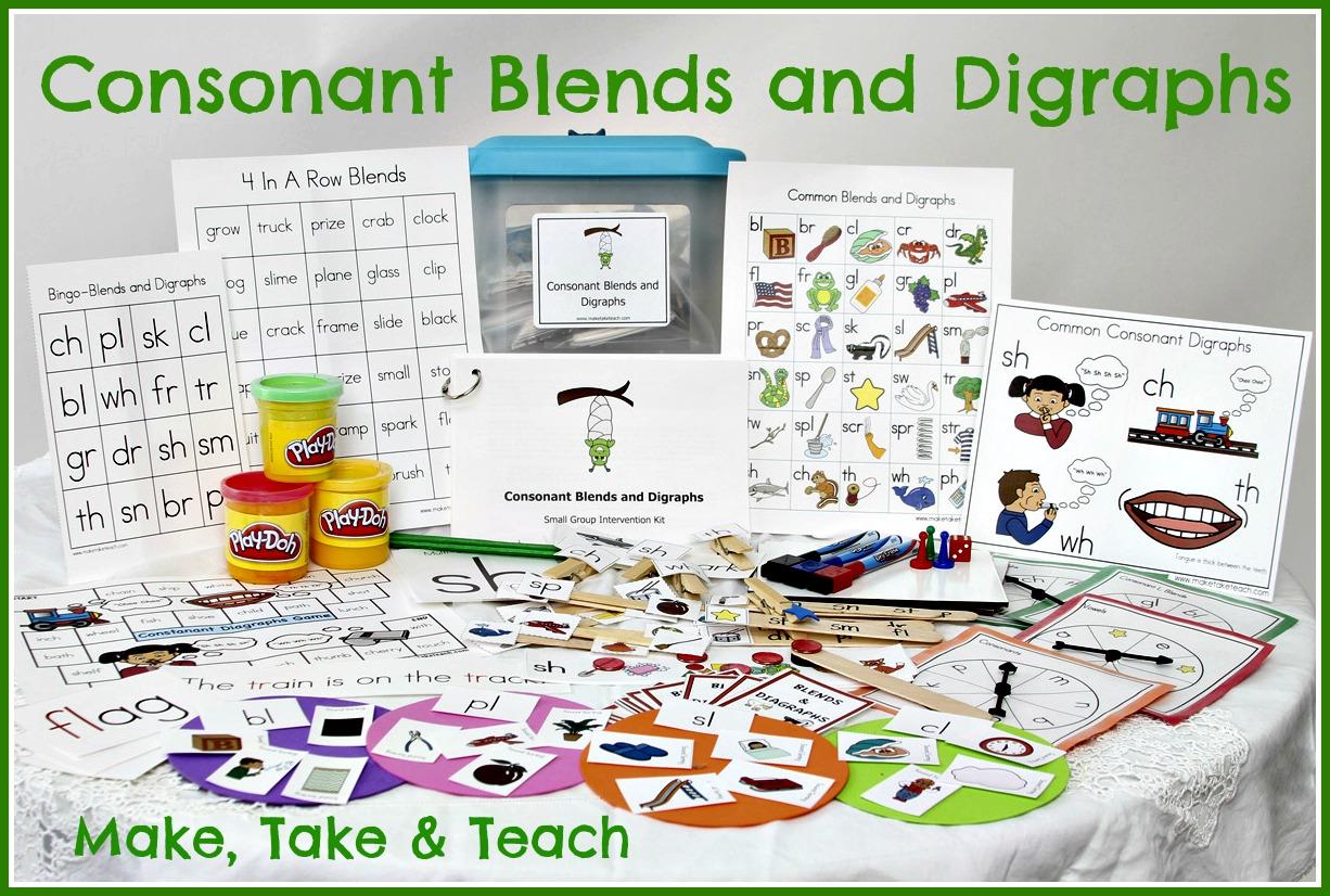 Teaching Blends 1st Grade