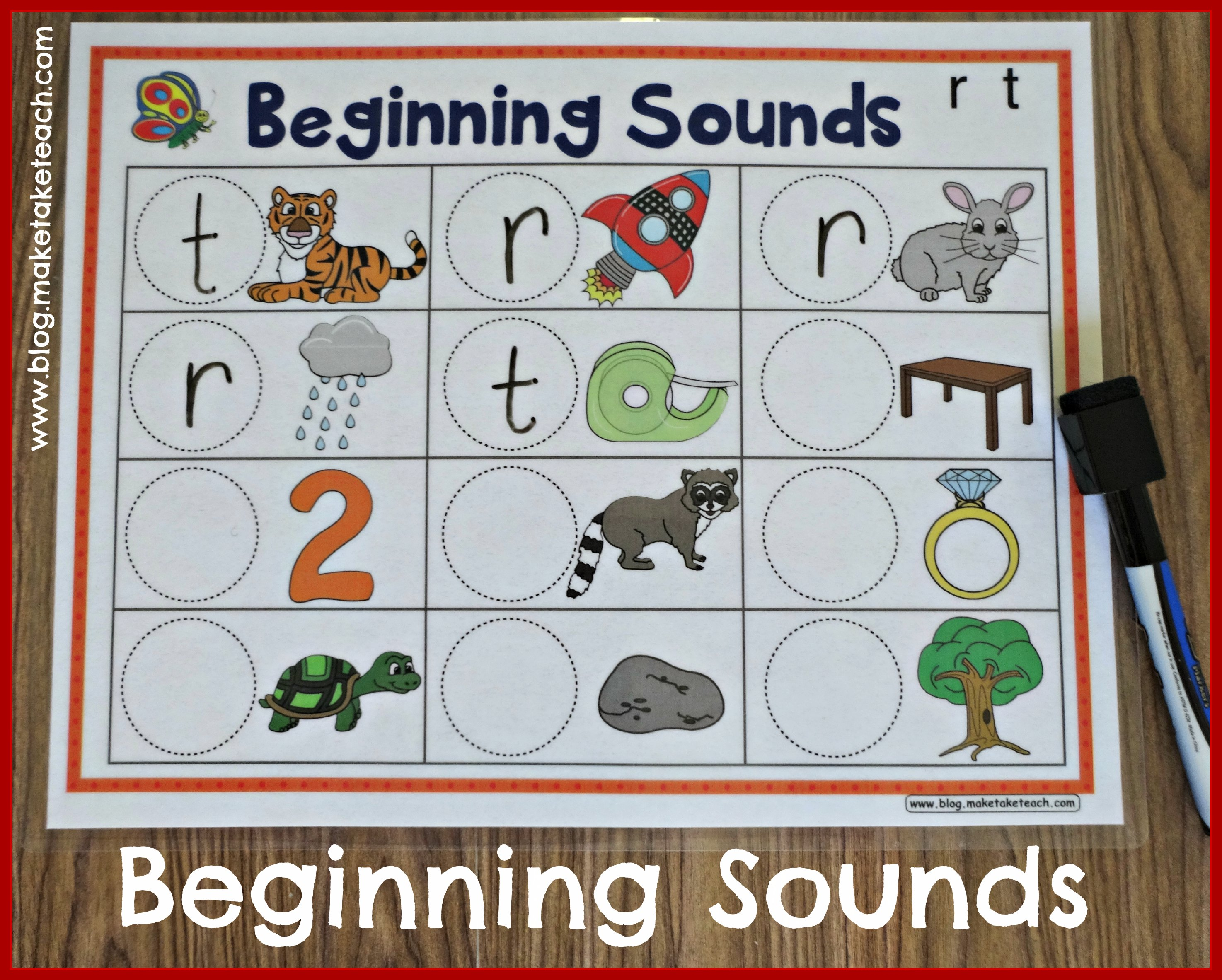 Fun With Beginning Sounds