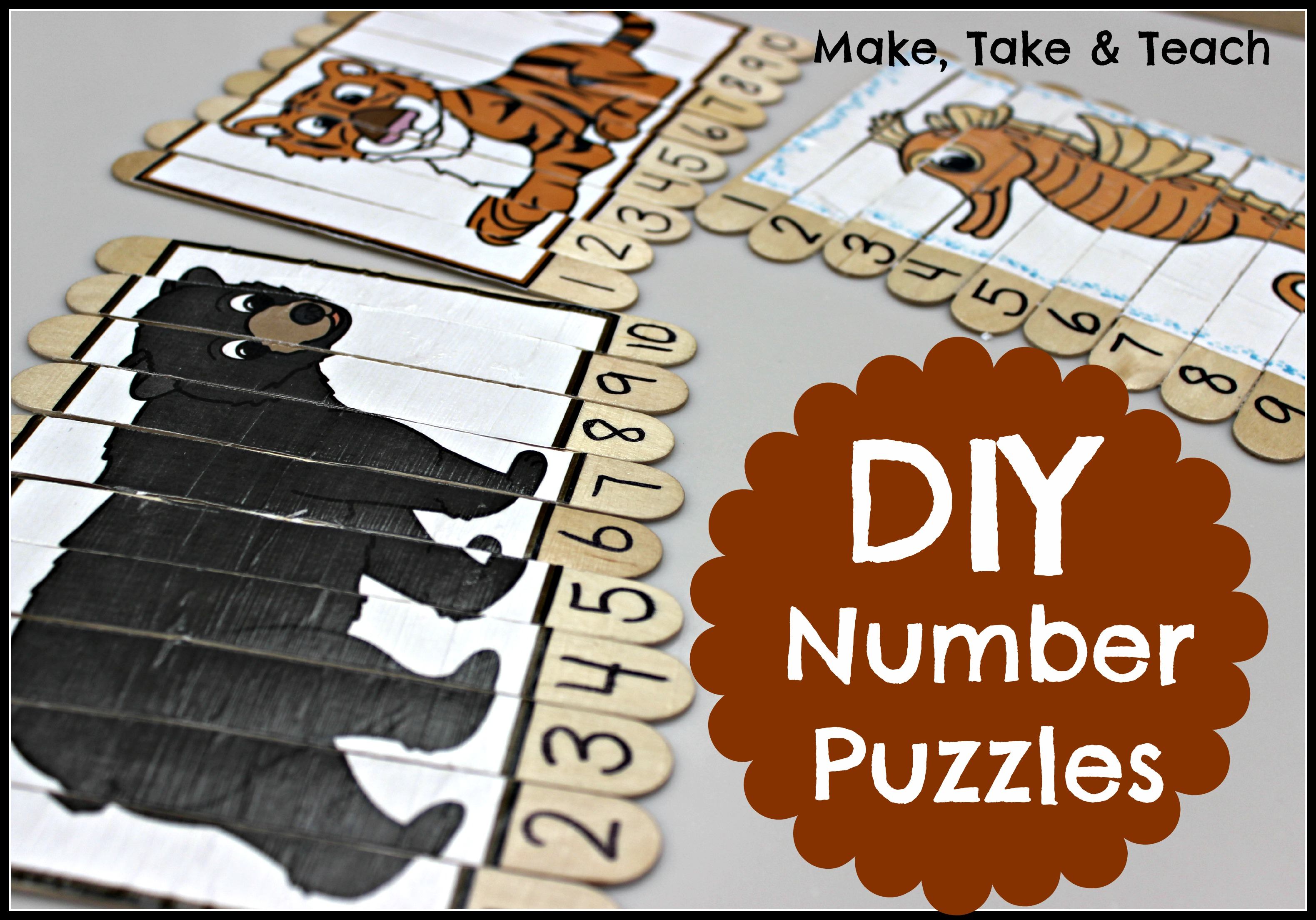 Diy Number Puzzles