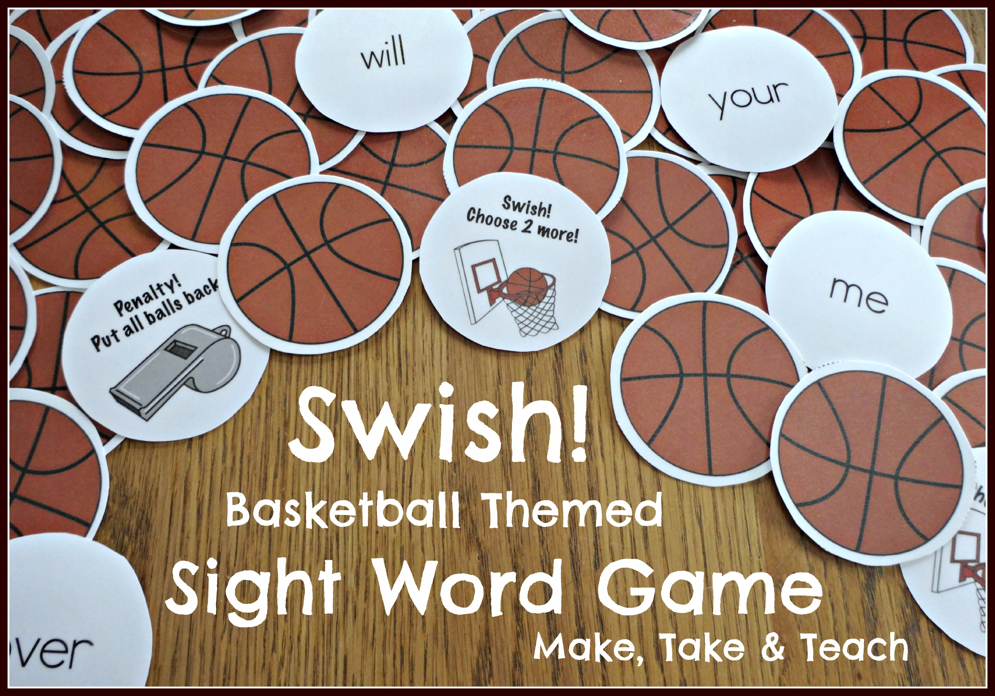 Even More Basketball Themed Activities