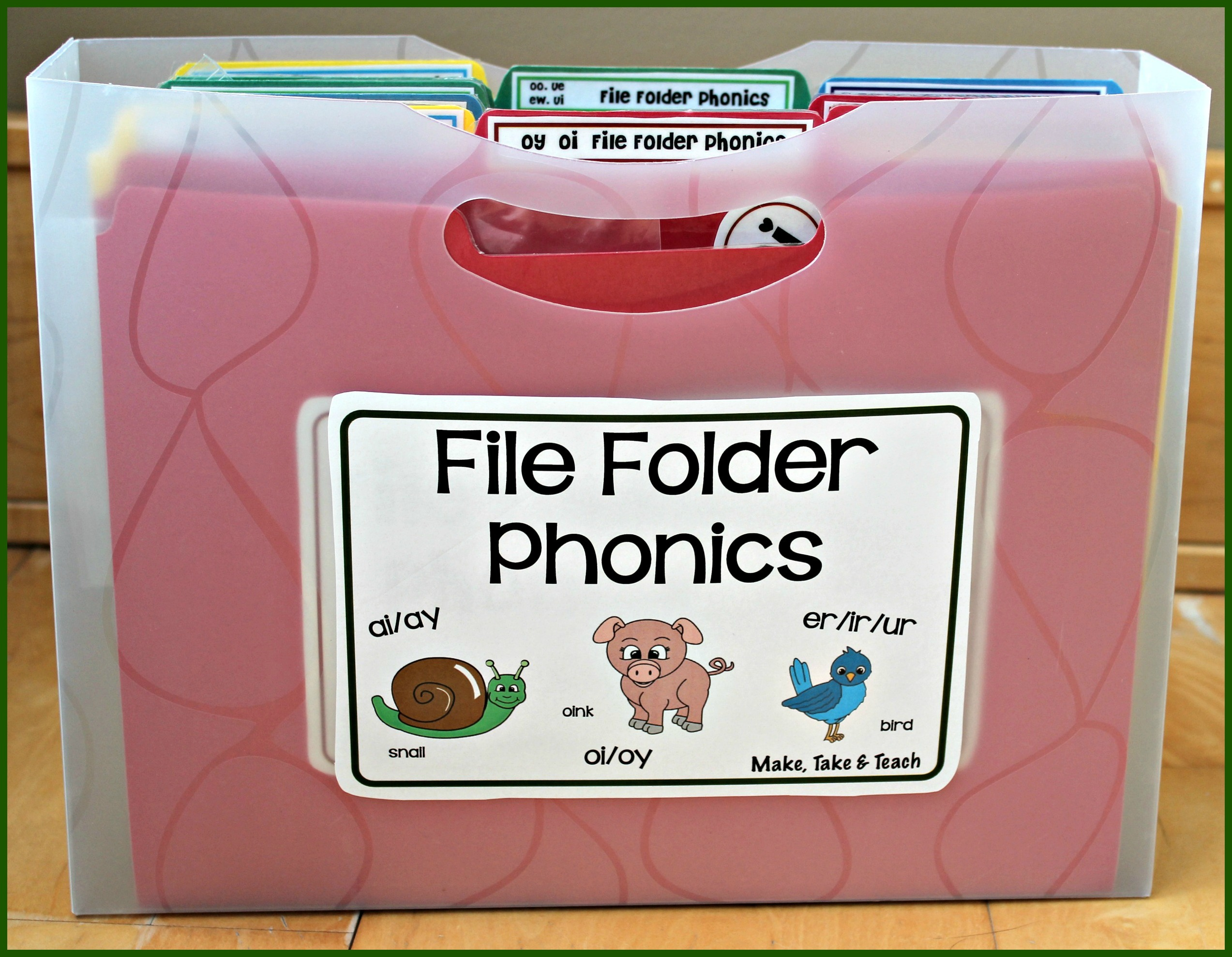 File Folder Phonics For Oi And Oy