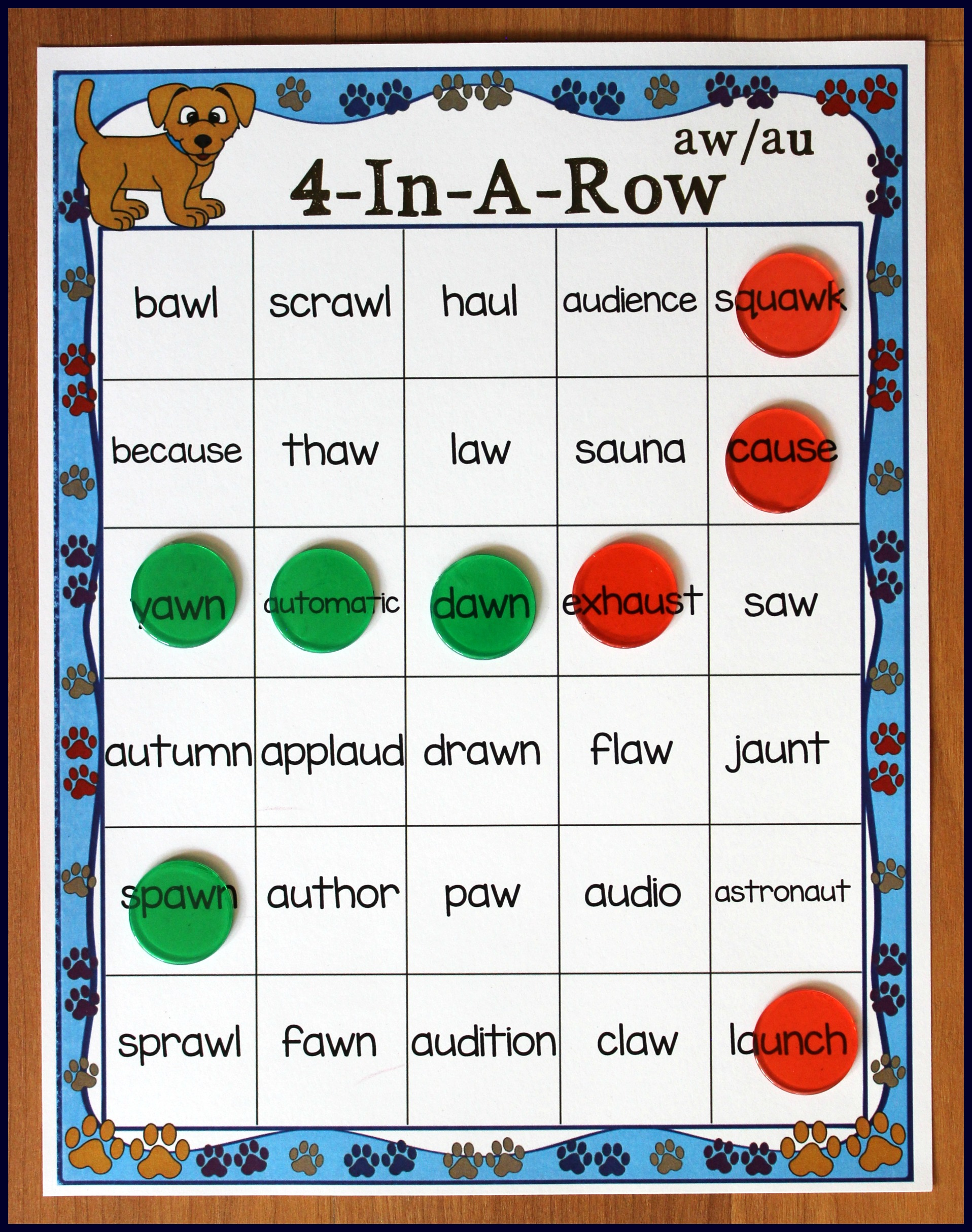Diphthongs Ay Worksheet