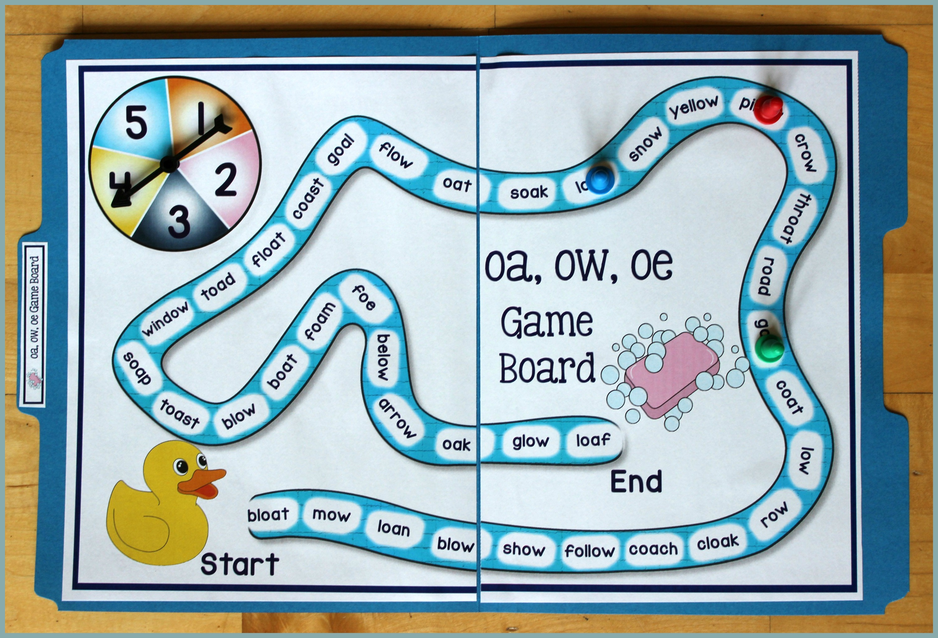 Teach Child How To Read Oa Words Phonics Sentences