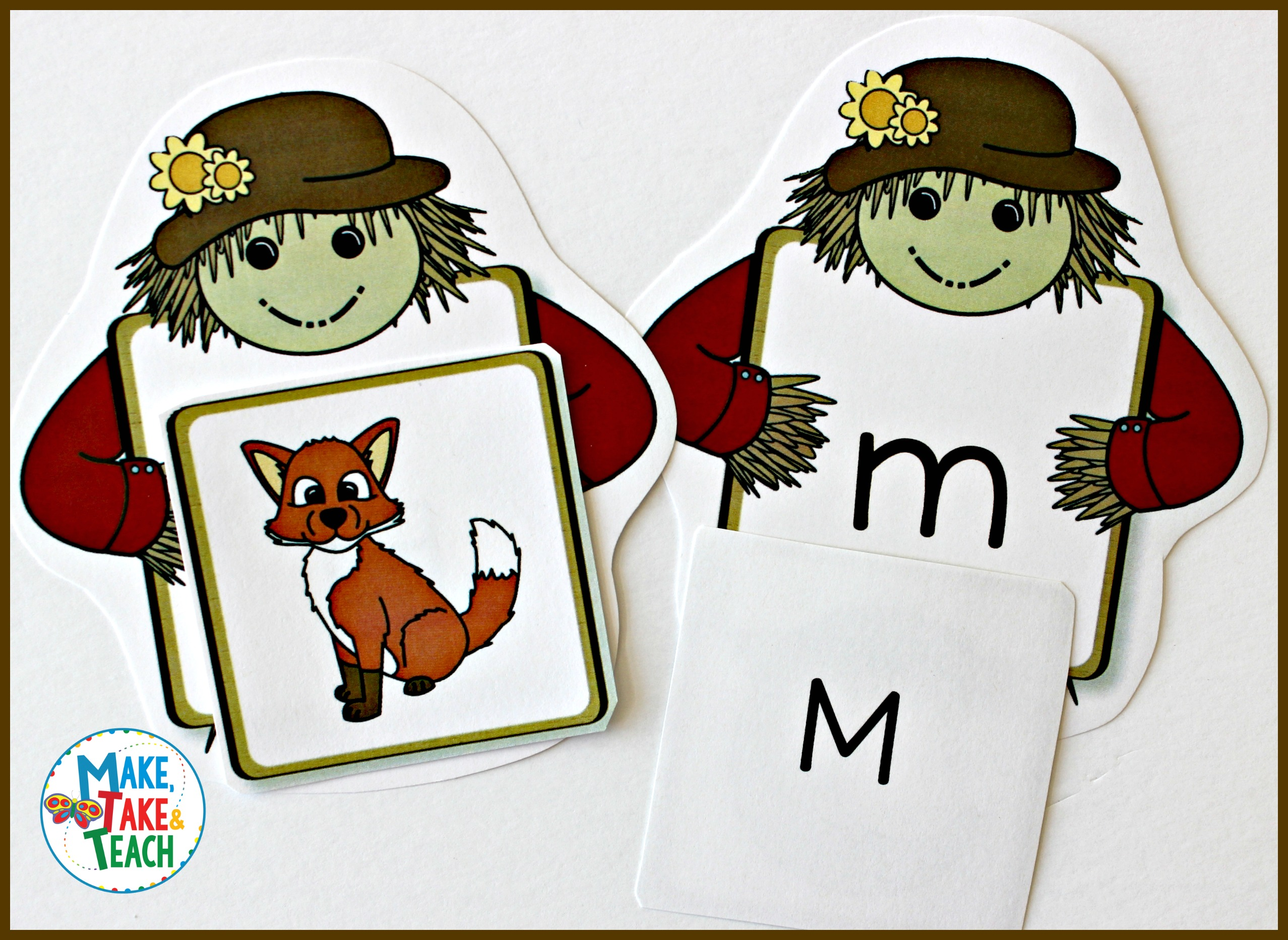 Scarecrow Alphabet Activities