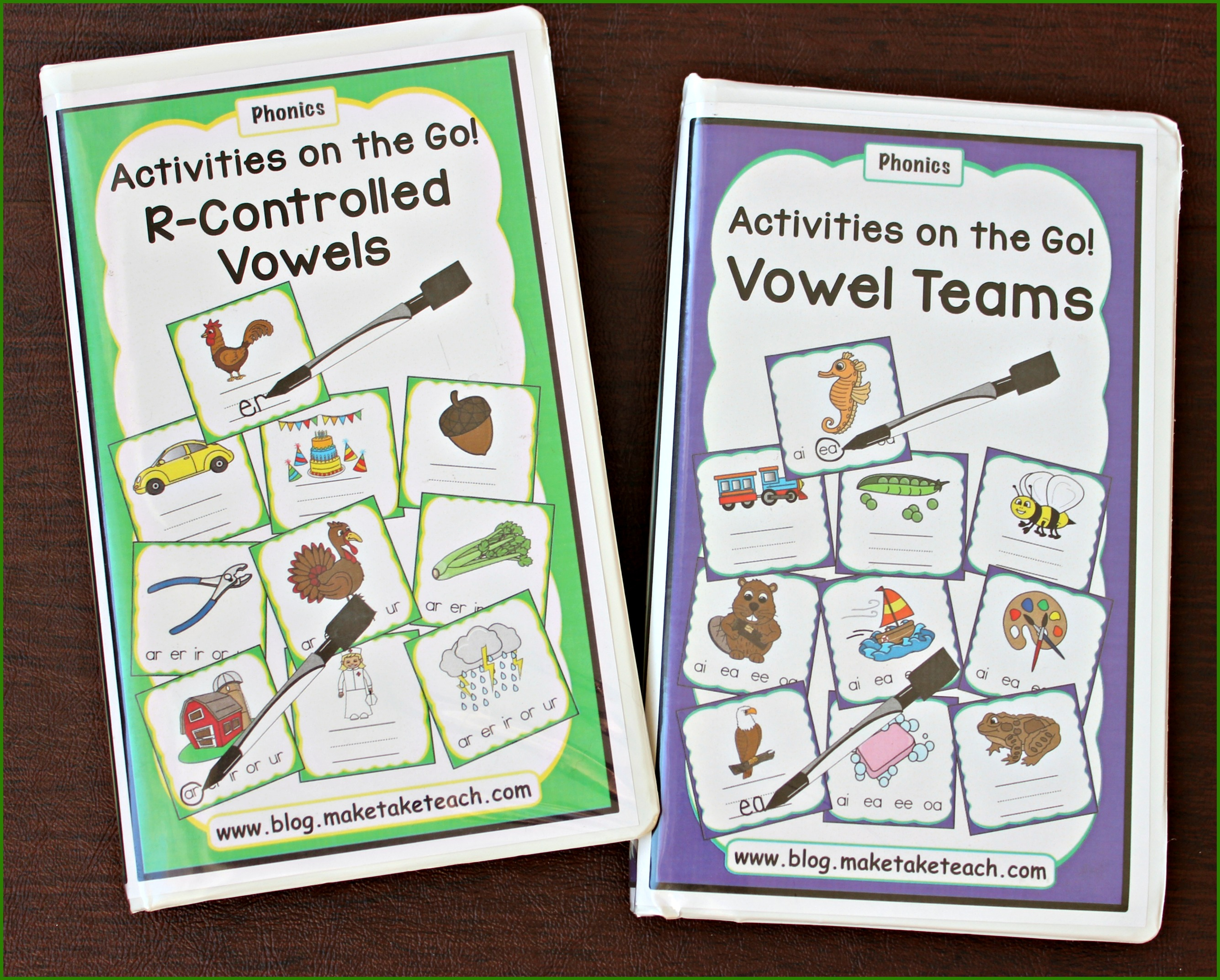 Activities On The Go R Controlled Vowels And Vowel Teams