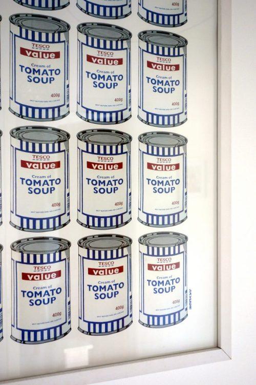 Banksy Tesco Tomato Soup Cans