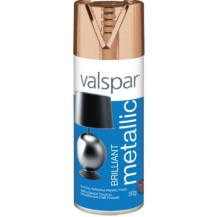 valspar copper spray paint