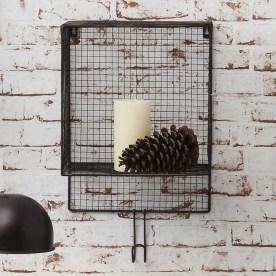 Wire Basket Wall Shelf by Gallery