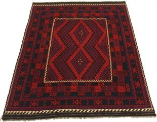 Enormous Afghan rug for the bedroom
