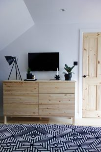 Tarva Chest of Drawers & Sinnerlig plant pot