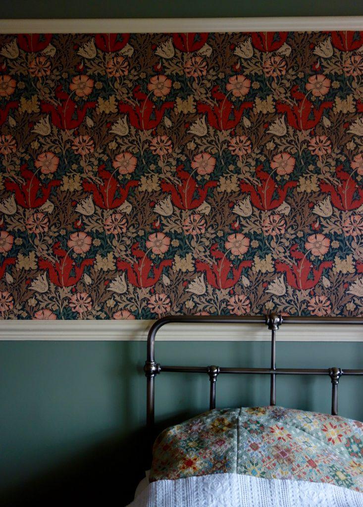The William Morris Bedroom Pre Reveal Edwardian