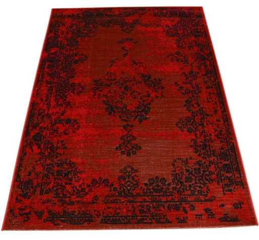 Revive Red Rug from Modern Rugs