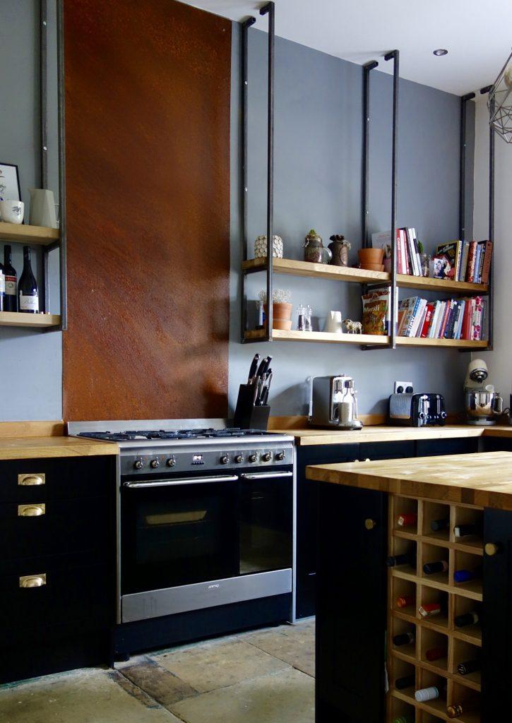 Black Shaker Kitchen