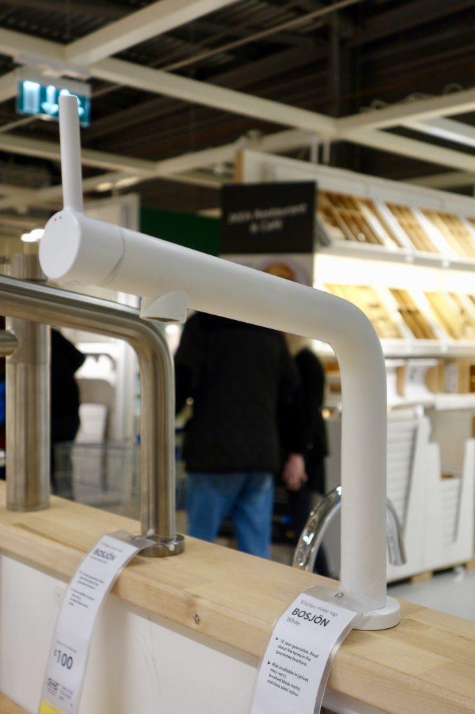 Ikea Bosjon Tap White