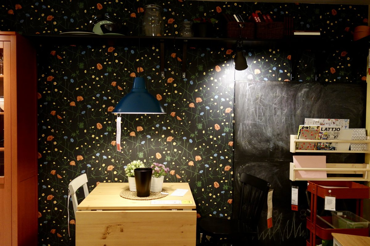 Ikea Dark Scandinavian Design