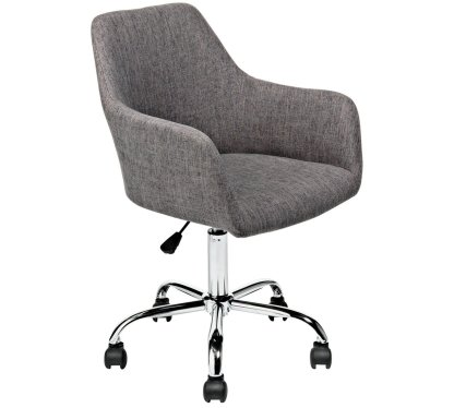 HOME Fabric Office Chair - Charcoal