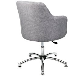 HOME Button Back Office Chair - Grey