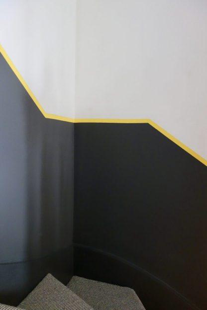 Colour blocking staircase