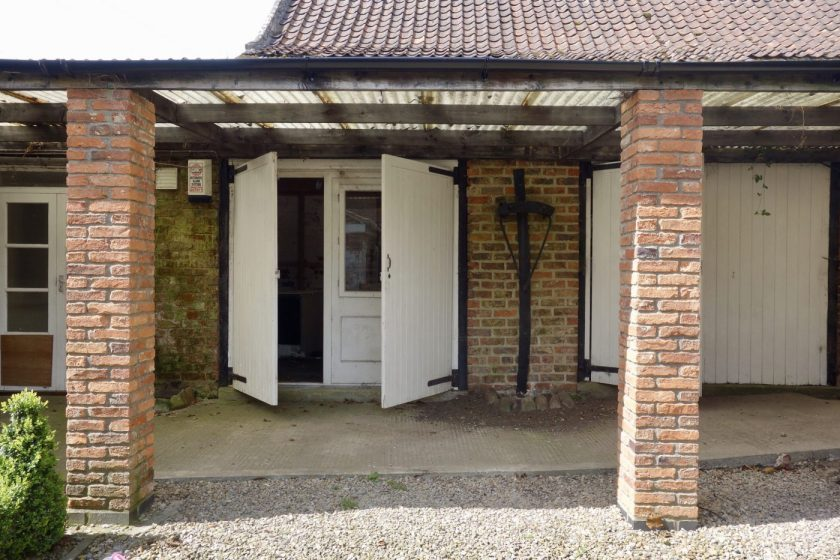Victorian Outbuildings Before