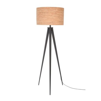 Zuiver_Tripod_Cork_Floor_Lamp_Black_1-1500x1500