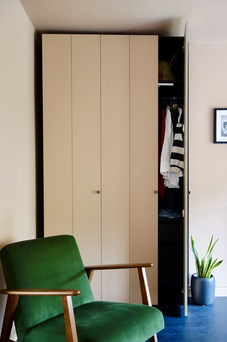 My Ikea Pax Hack - The Nude Bedroom Update - Making Spaces