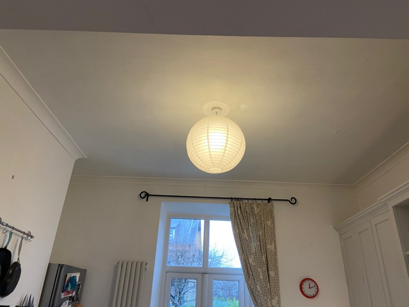 Before - Old cornice