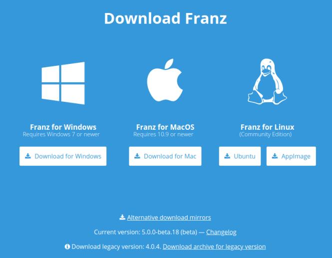 Franz-Download
