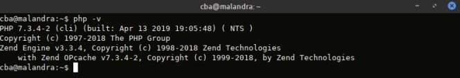 Vérification version de PHP avant migration vers PHP7